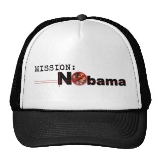 Nobama Mission Hat