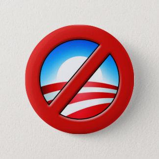 NOBAMA  No Obama Anti-Obama 6 Cm Round Badge
