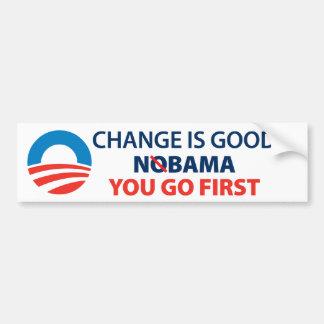 NOBAMA Sticker Bumper Sticker