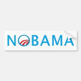 Nobama Top Seliing Political Gear Bumper Sticker