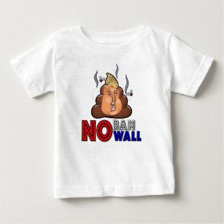 NoBanNoWall No Ban No Wall Protest Immigration Ban Baby T-Shirt