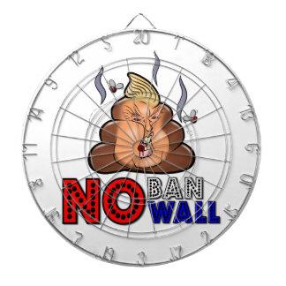 NoBanNoWall No Ban No Wall Protest Immigration Ban Dartboard