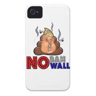 NoBanNoWall No Ban No Wall Protest Immigration Ban iPhone 4 Cases