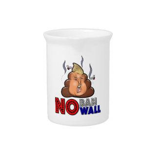 NoBanNoWall No Ban No Wall Protest Immigration Ban Pitcher