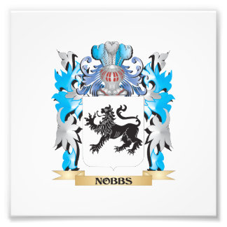 Nobbs Coat of Arms - Family Crest Photo Print