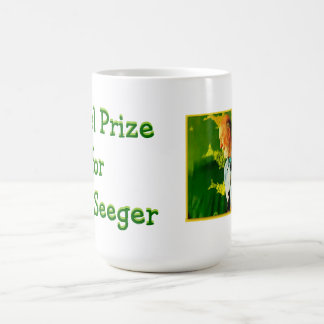 Nobel Prize for Pete Seeger cup