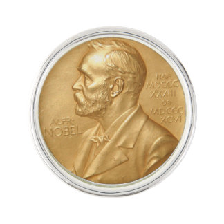 Nobel Prize Lapel Pin