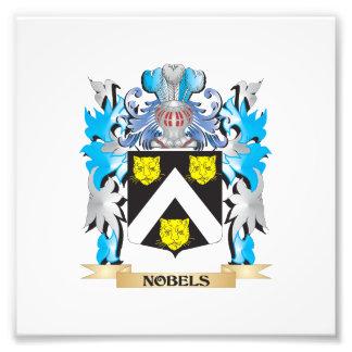 Nobels Coat of Arms - Family Crest Photo Art