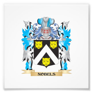 Nobels Coat of Arms - Family Crest Photo Art