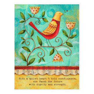 Noble Bird- Postcard