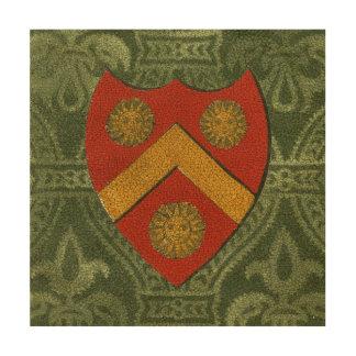 Noble Crest V Wood Wall Art