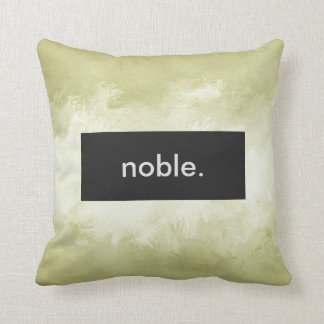 noble. Full Print Customizable Cushion