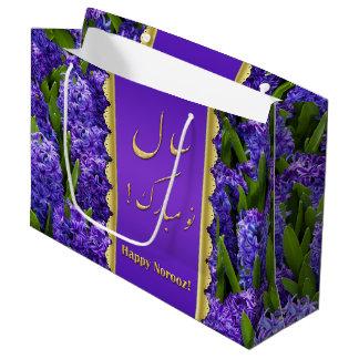 Noble Happy Norooz Hyacinths - Large Gift Bag