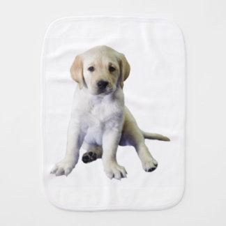 Noble Labrador Puppy Burp Cloth