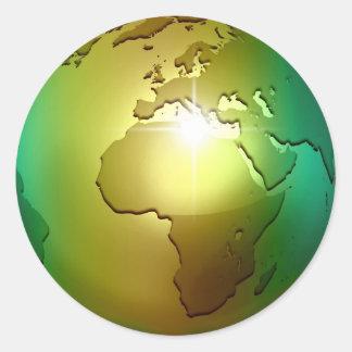 Noble World Globe - Sticker