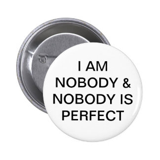 NOBODY BUTTONS
