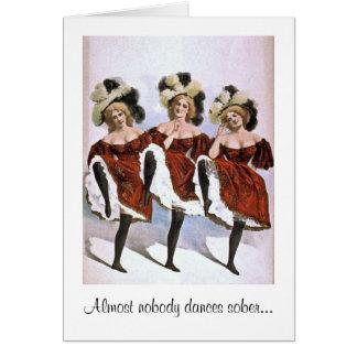Nobody Dances Sober Card