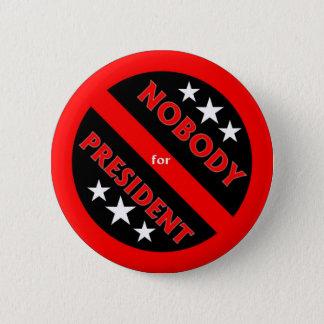 Nobody for President button