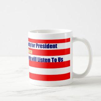 Nobody for President Mug