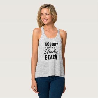 Nobody likes a shady beach ! singlet