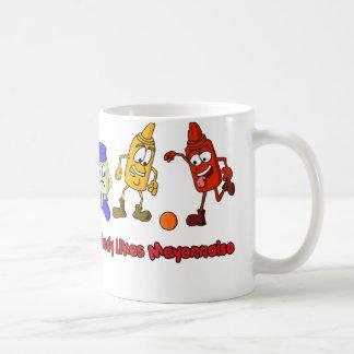 Nobody Likes Mayonnaise Coffee Mug