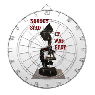 Nobody said it was easy dartboard with darts