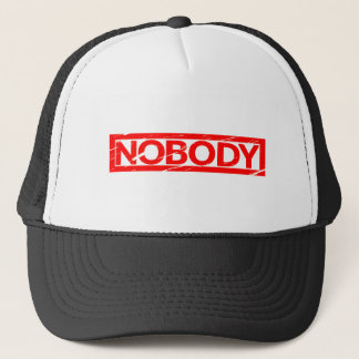 Nobody Stamp Trucker Hat