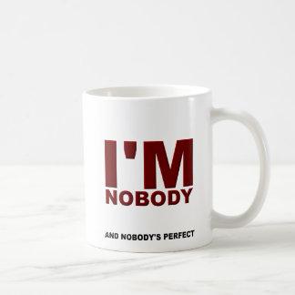 Nobody's Perfect Funny Mug