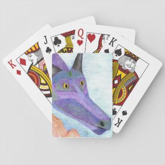 """Nobody's Pet"" original art Playing Cards"