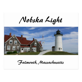 Nobska Lighthouse Post Card