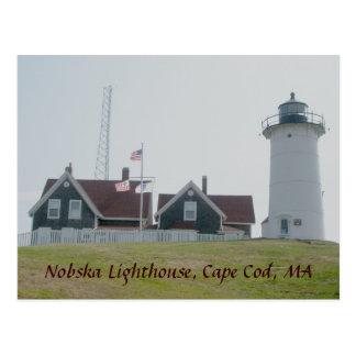 Nobska Lighthouse Postcard