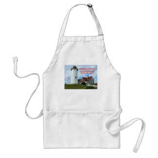 Nobska Point Lighthouse, Mass Cooking Apron