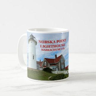 Nobska Point Lighthouse, Massachusetts Mug