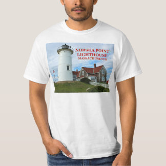 Nobska Point Lighthouse, Massachusetts T-Shirt