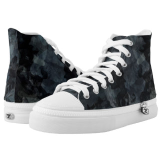 Nocturnal Camouflage Printed Shoes