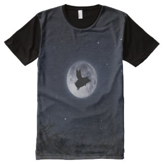 nocturnal flying pig All-Over print T-Shirt
