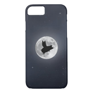 Nocturnal Flying Pig iPhone 8/7 Case