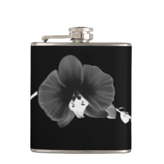 Nocturnal Orchid Hip Flask