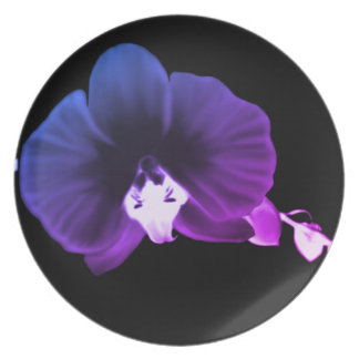 Nocturnal Orchid Plate