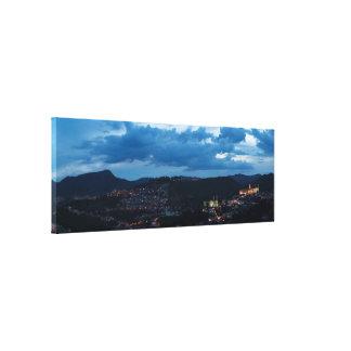Nocturnal Ouro Preto Canvas Print