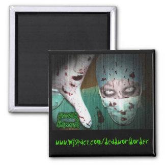 Nocturnal Resurrection - Dr. Butcher Fridge Magnets