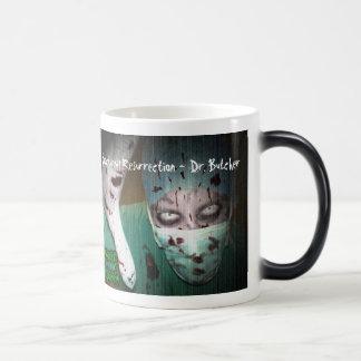 Nocturnal Resurrection - Dr. Butcher Morphing Mug