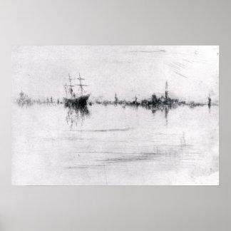 Nocturne by James Abbott McNeill Whistler Print