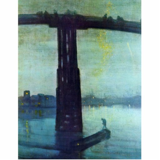 Nocturne In Blue And Gold: Old Battersea Bridge By Cut Out