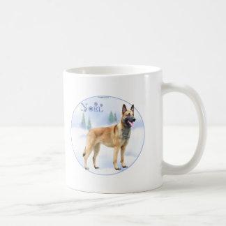 Noel Belgian Malinois Coffee Mug