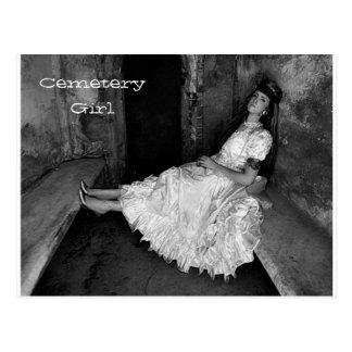 Noel - Cemetery Girl Post Cards