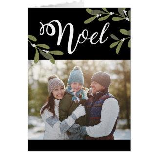 Noel - Christmas Photo Greeting Card