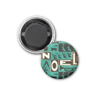 Noel Green Fridge Magnet