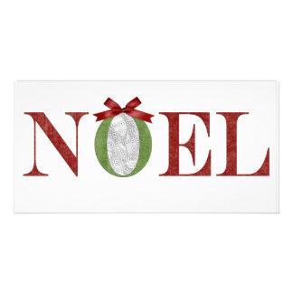 Noel Photo Greeting Card