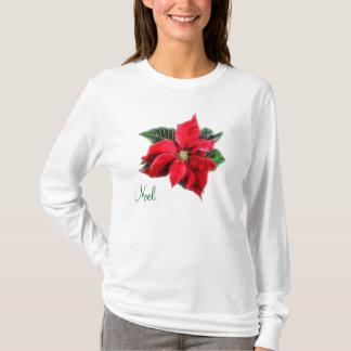 Noel Poinsettia T-Shirt